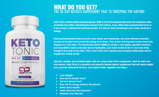 Keto Tonic Pills - Reviews A Detailed Beginner's Guide To Keto